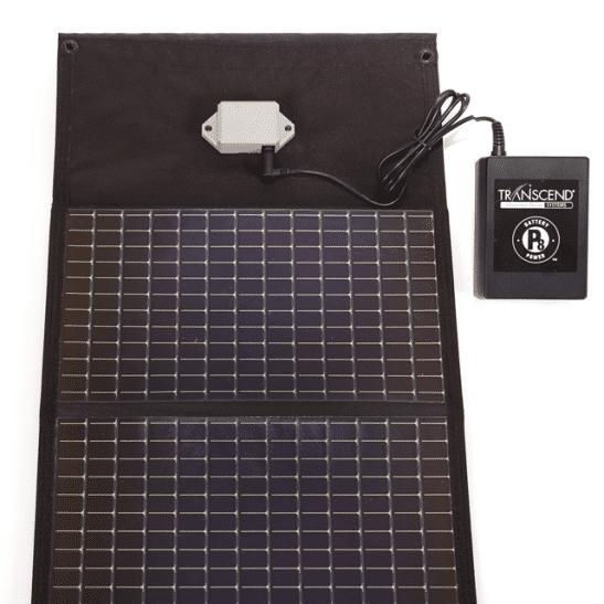 solar charger for transcend batteries